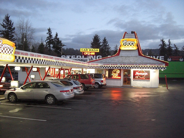 Boomer's Drive-in Bellingham Washington Cheap East Amazing