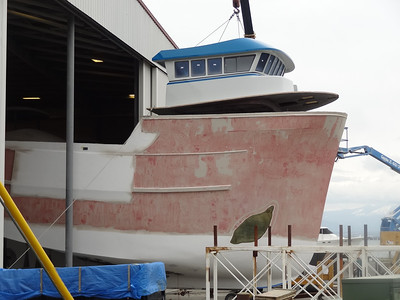 LAUNCHED...Northern Marine's new 58' seiner...
